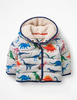 Shale Grey Toy Dinos Babysaurus Padded Coat
