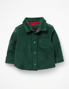 Mountain Forest Green Corduroy Shirt
