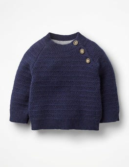 Beacon Blue Cashmere Sweater