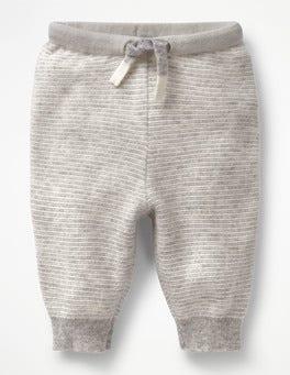 Silver Marl/Ecru Cashmere Trousers