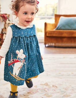 Appliqué  Friends Dress