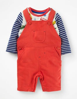 Beam Red Jersey Overall Set