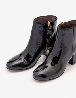 Black Tredegar Ankle Boots