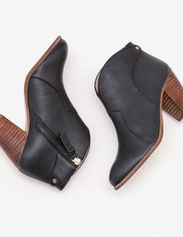 Black Hoxton Ankle Boots
