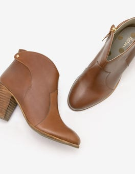 Tan Hoxton Ankle Boots