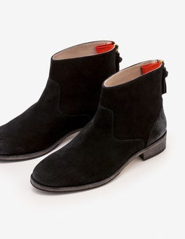 Black Kingham Ankle Boots