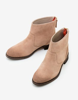 Soft Truffle Kingham Ankle Boots
