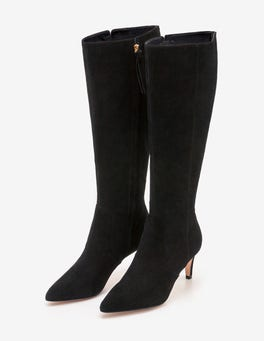 Black Ledbury Knee High Boots
