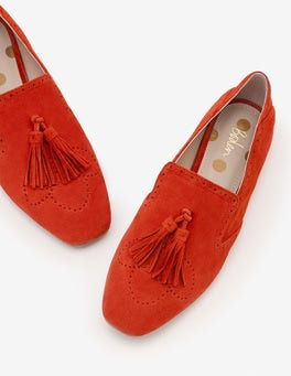 Post Box Red Erin Brogues
