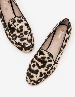 Snow Leopard Imogen Loafers