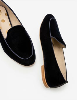 Navy Imogen Loafers
