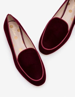 Dark Burgundy Imogen Loafers