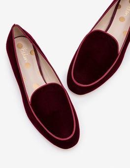 Dark Burgundy Imogen Loafers
