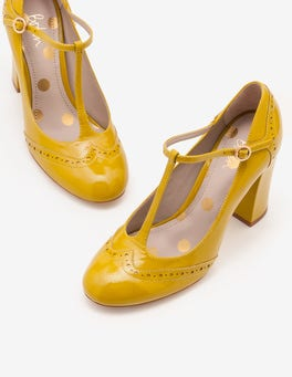 Hot Mustard Lucinda Heels
