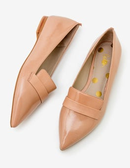 Fawn Rose  Octavia Pointed Loafers
