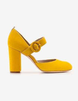 English Mustard Evie Heels