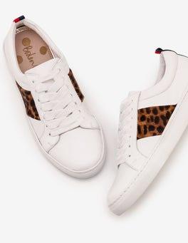 Tan Leopard Classic Sneakers