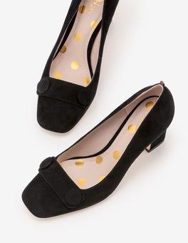 Black Frances Heels