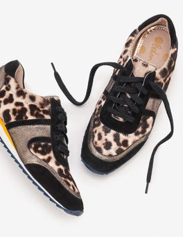 Snow Leopard Hotchpotch Sneakers