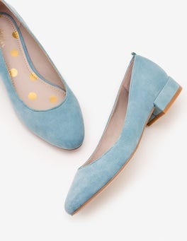 Heritage Blue Amelie Low Heel Ballerinas