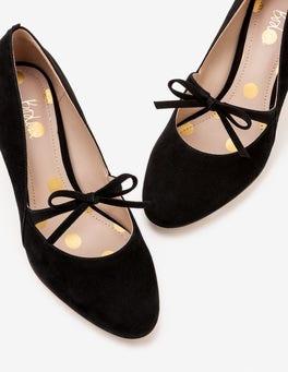 Black Anthea Mid Heels