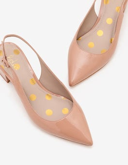 Fawn Rose Annie Pointed Slingbacks