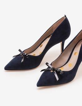 Navy Eleanor Heels