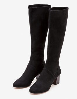 Round Toe Stretch Boots