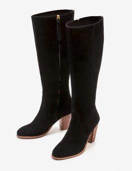 Black Temple Boho Boots