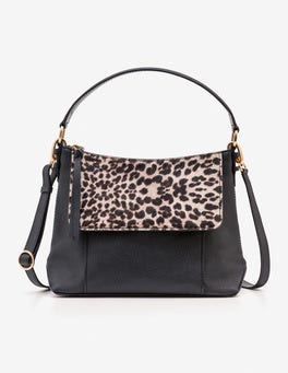 Black/Snow Leopard Walcot Bag