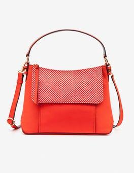Gladioli Herringbone Walcot Bag