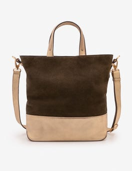 Military Green Rushwick Tote Bag