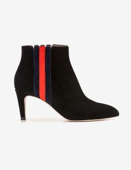 Black Bridgewater Ankle Boots
