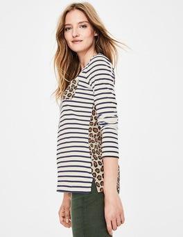 Leopard Long Sleeve Breton