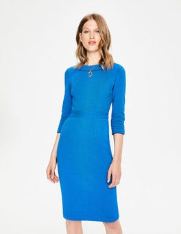 Cyan Mia Ottoman Dress