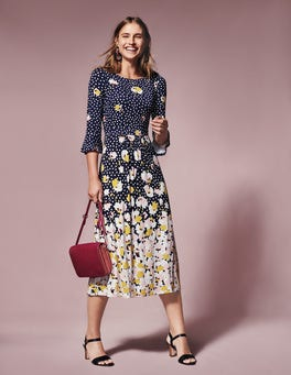 Blossom Jersey Dress