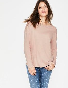 Milchshake Superweiches Shirt mit überschnittenen Schultern