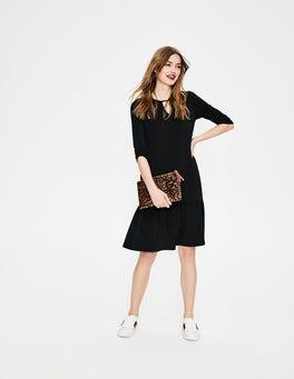 Black Selena Jersey Dress