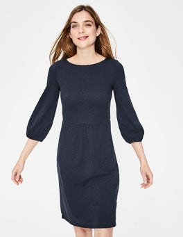 Navy Odelia Jersey Dress
