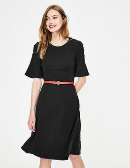 Black Alexis Jersey Dress
