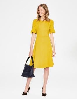 Hot Mustard Alexis Jersey Dress
