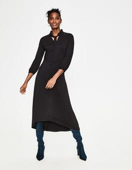 Black Rosa Jersey Midi Dress