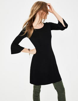 Black Miriam Jersey Tunic