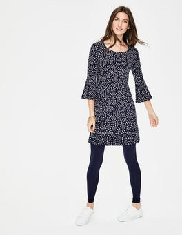Navy Starry Bird Miriam Jersey Tunic