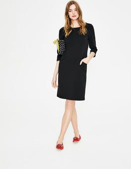 Black Jasmine Ottoman Dress