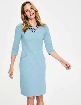 Heritage Blue Jasmine Ottoman Dress