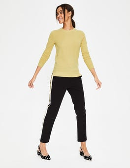 Buttercup Cashmere Crew Neck Jumper