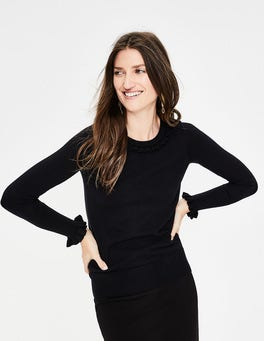 Black Bernadette Jumper