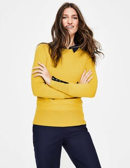 English Mustard Tilda Crew Neck Jumper