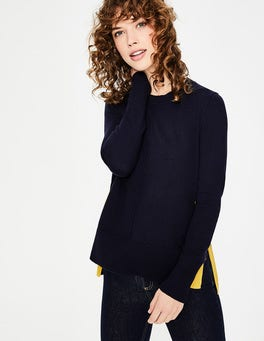 Navy Logan Sweater